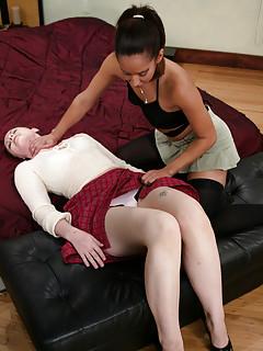 Lesbian Upskirt Pics