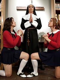 Lesbian sex uniform